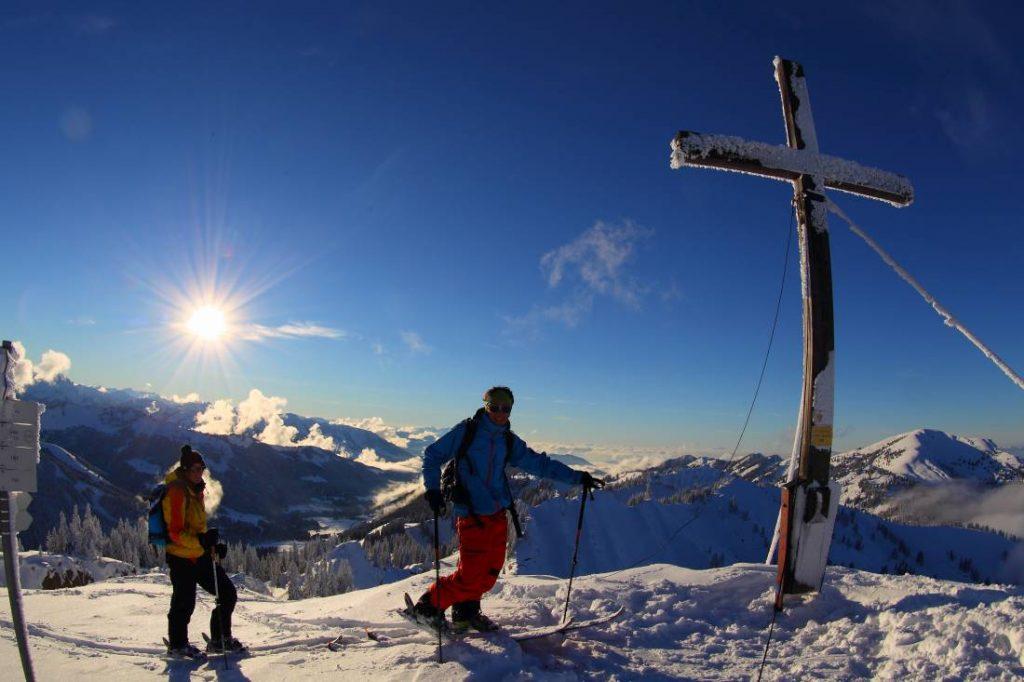 Allgäu Skitouren Durchquerung
