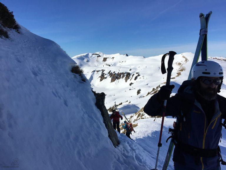 Freeride & Skitouren Technik Camp Ski Pro